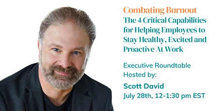Combating Burnout Executive Roundtable tickets