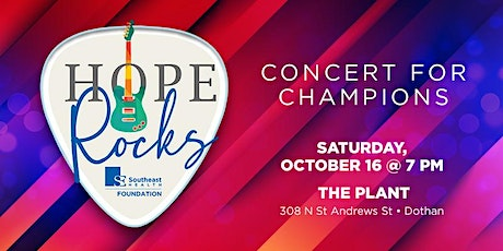 Champions of Hope - Hope Rocks Benefit Concert tickets