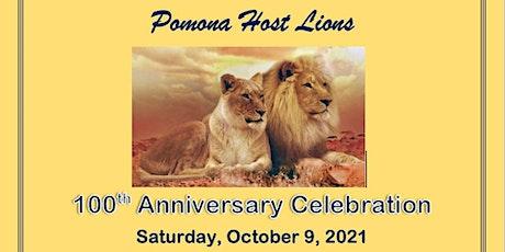 Pomona Host Lions 100th Anniversary Celebration tickets