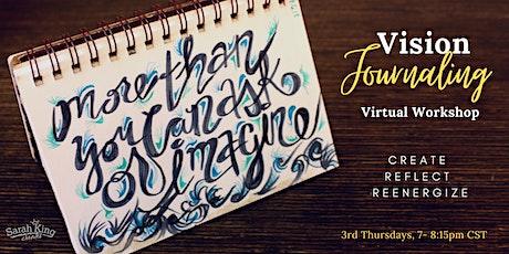 Vision Journaling Virtual Workshop tickets