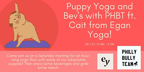Puppy Yoga with Philly Bully Team! tickets