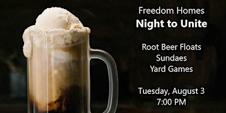 Freedom Homes Night to Unite tickets