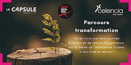 NDW2021 : Parcours Transformation : de l'idéation à la réalisation billets
