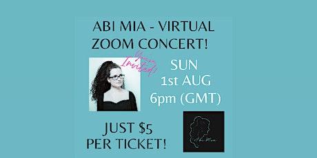 Abi Mia - First Virtual Concert! tickets