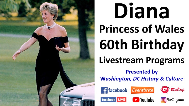 Diana, Princess of Wales: 60th Birthday Commemoration Livestreams image