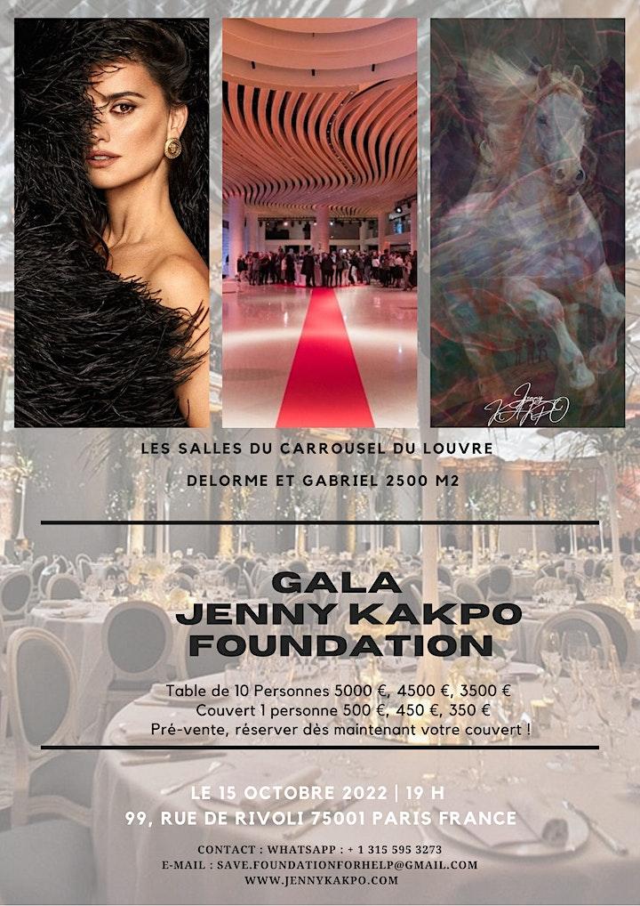 Image pour Enregistrement, JennyKAKPO Foundation, Gala Carrousel du Louvre Paris, 2022
