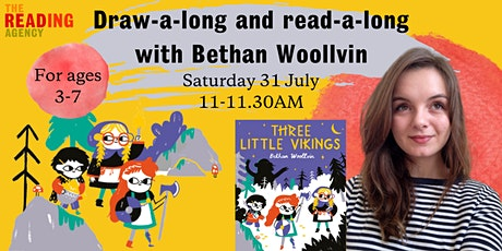 Read-a-long and draw-a-long with Bethan Woollvin! tickets