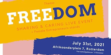 Sharing & Caring Women Empowerment Event: Freedom tickets