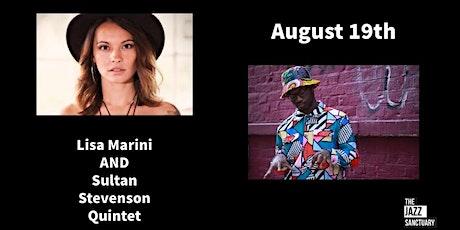 Lisa Marini plus Sultan Stevenson Quintet tickets