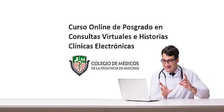 Posgrado Online en Consultas Virtuales e Historias Clínicas Electrónicas biglietti