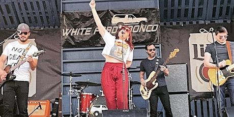 White Ford Bronco at the Bullpen - 8.07 tickets