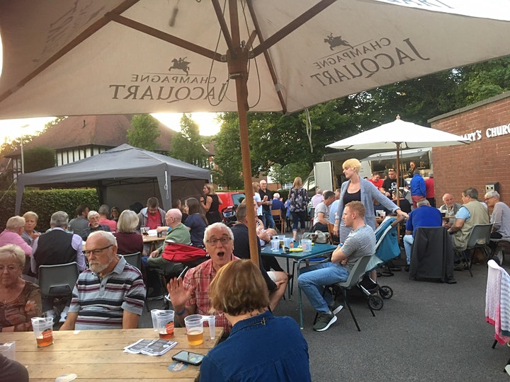 St Mary's Church Pop-up Beer Festival 2021 image