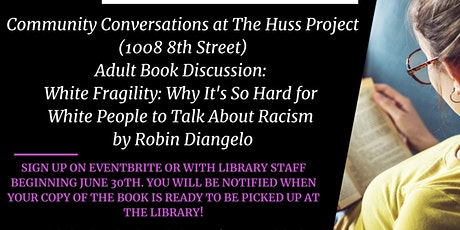 Community Conversation Adult Book Talk : White Fragility tickets