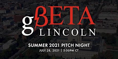 gBETA Lincoln Pitch Night tickets