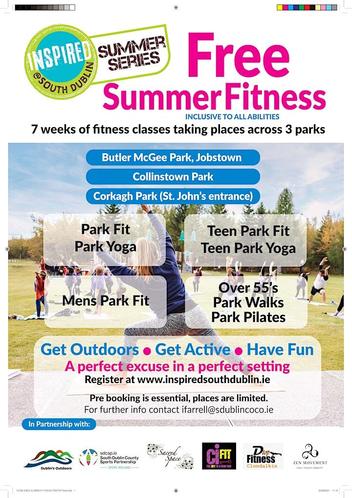 Free Older Adult Yoga (Corkagh Park) image