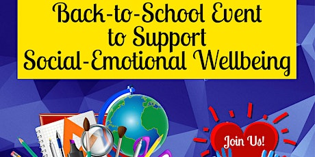 Back-to-School Emotional Health & Wellbeing Support Event tickets