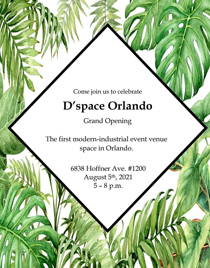 """D'space Orlando """"Grand Opening"""" Industry Event 
