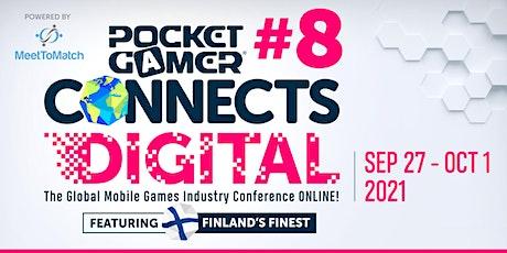 Pocket Gamer Connects Digital #8 tickets