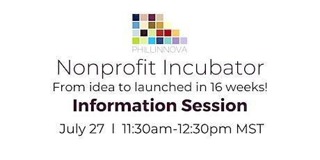 Nonprofit Incubator Information Session tickets