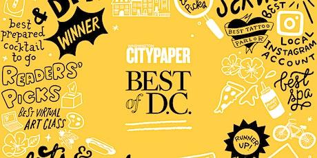Washington City Paper's Best of D.C. 2021 Voting Party tickets