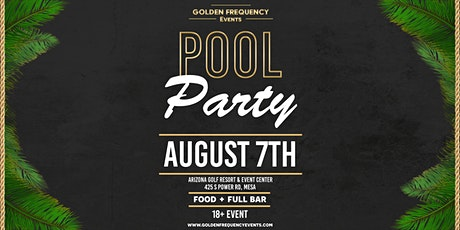 Pool Party tickets