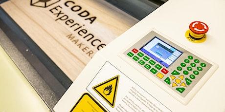 Training Lasersnijder 130x90 CODA ExperienceLab tickets