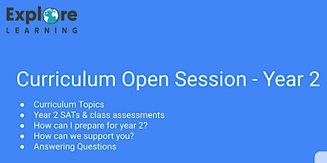 Year 2 Curriculum Open Session tickets