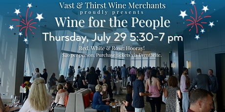 Wine for the People: Red, White & Rosé tickets