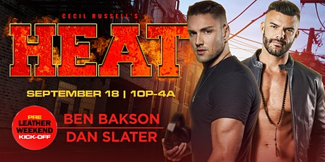 Cecil Russell's HEAT: Pre-Leather Weekend Kick-Off tickets