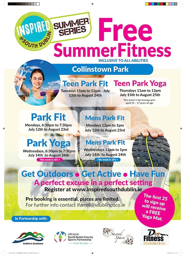 Free Park Yoga / Pilates (Collinstown Park) image