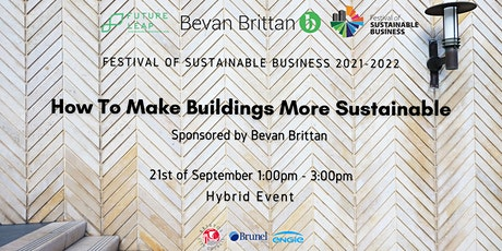 How To Make Buildings More Sustainable [Conference FoSB 2021-2022] tickets