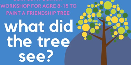 NY Voice What did the tree see? Wild World Heroes Paint Party tickets