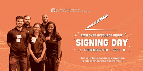 Employee Resource Group Signing Day tickets