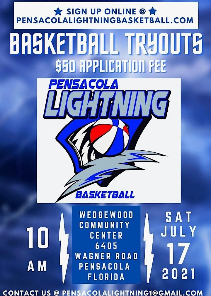 2021 Pensacola Lightning Tryout image