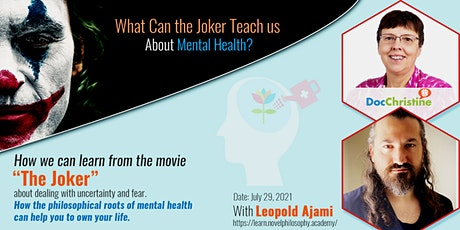 """Learn to Deal with Uncertainty and Fear - From the Movie """"The Joker"""" tickets"""