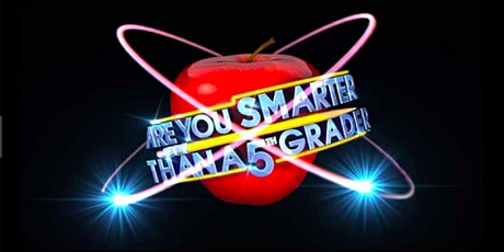 Are you Smarter than a 5th Grader   Fundraiser (live host) via Zoom (EB) tickets