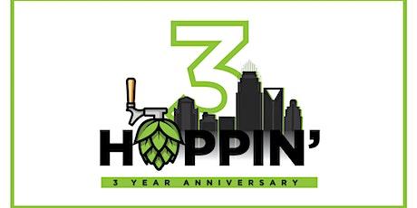 Hoppin' 3 Year Anniversary Party tickets