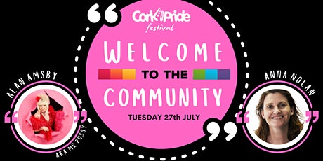Cork Pride: Welcome to the Community: Coming Out Evening tickets