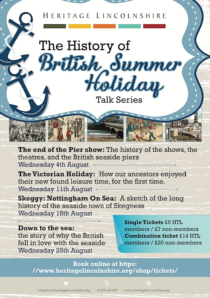 HISTORY OF BRITISH SUMMER HOLIDAYS – Down to the sea: image