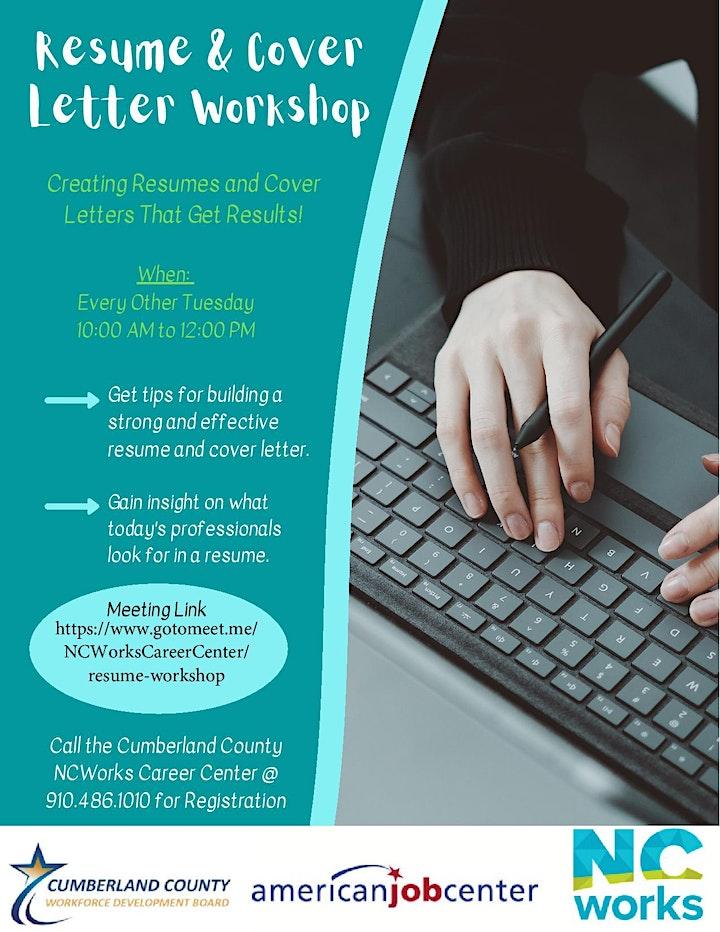 Resume & Cover Letter Workshop image