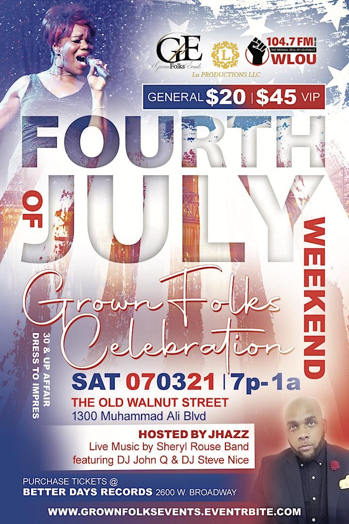 Louisville's 4th of July Grown Folks Weekend Celebration image