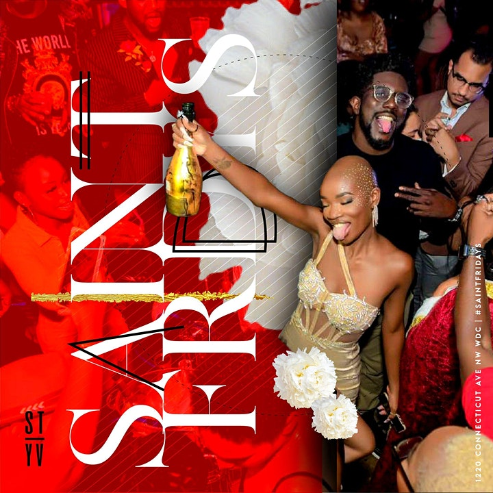 Saint Fridays DC | HipHop; AfroBeats; Dancehall; Soca; International image
