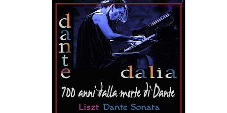 Dalia Lazar - 700 anni dalla morte di Dante (in vendita 1 agosto) biglietti