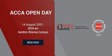CharterQuest ACCA  Open Day tickets