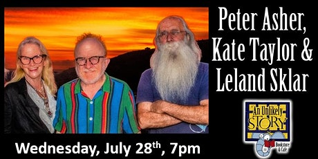 Peter Asher, Kate Taylor, and Leland Sklar tickets