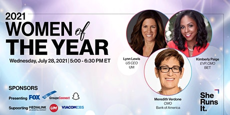 VIRTUAL EVENT: 2021 WOMEN OF THE YEAR tickets