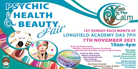 Psychic Health And Beauty Fair Longfield tickets