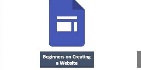 Beginners on Creating a Website tickets