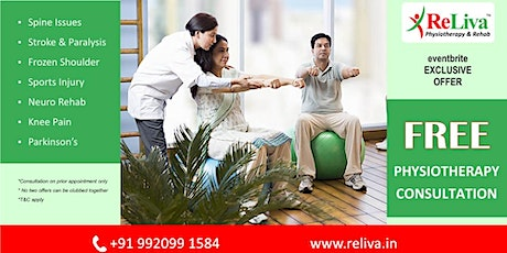 Fraser Town, Bangalore: Physiotherapy Special Offer tickets