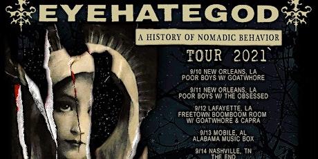 EYEHATEGOD - Knoxville tickets